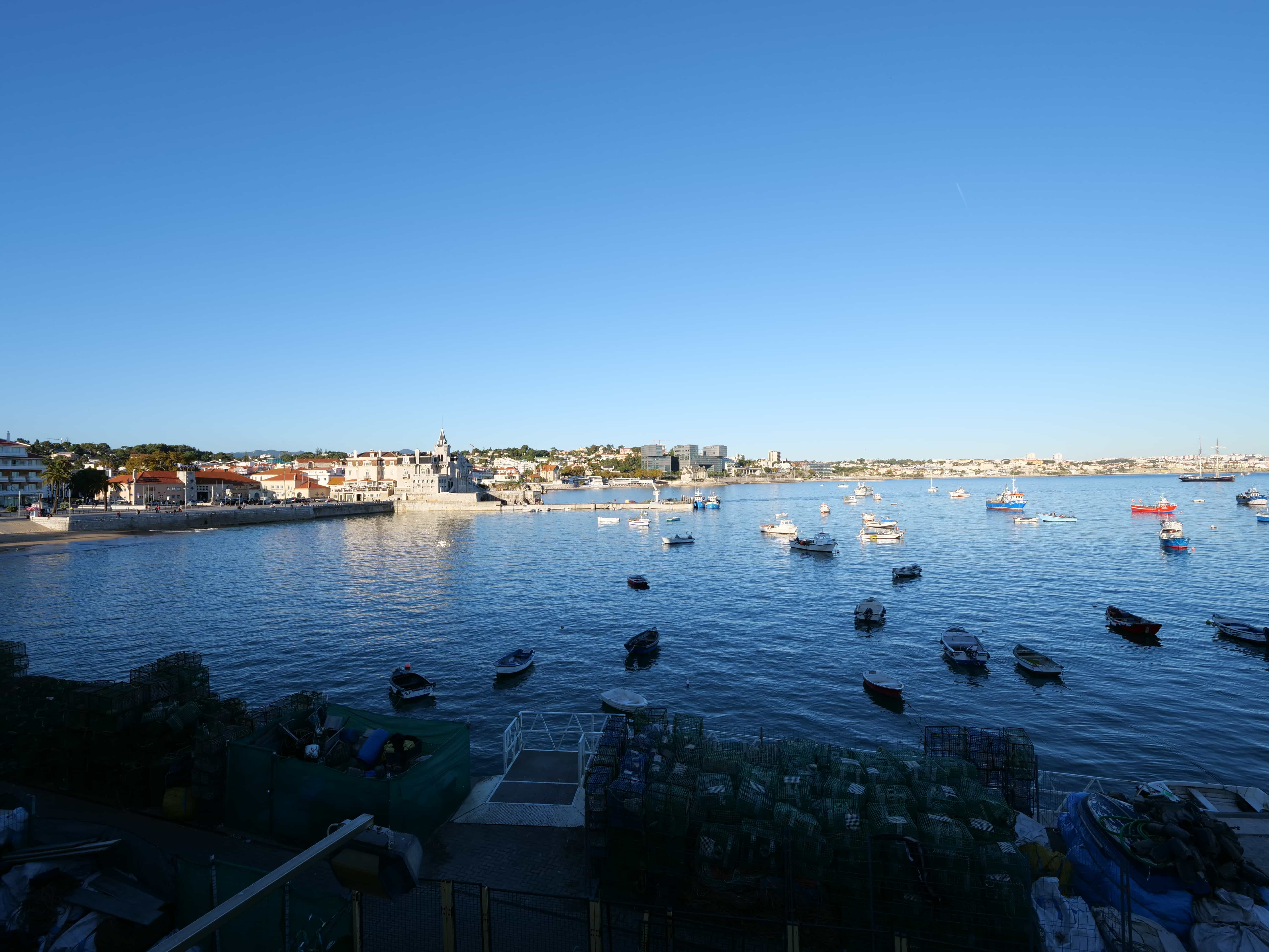 Hafen von Cascaix mit Panasonic Lumix G9