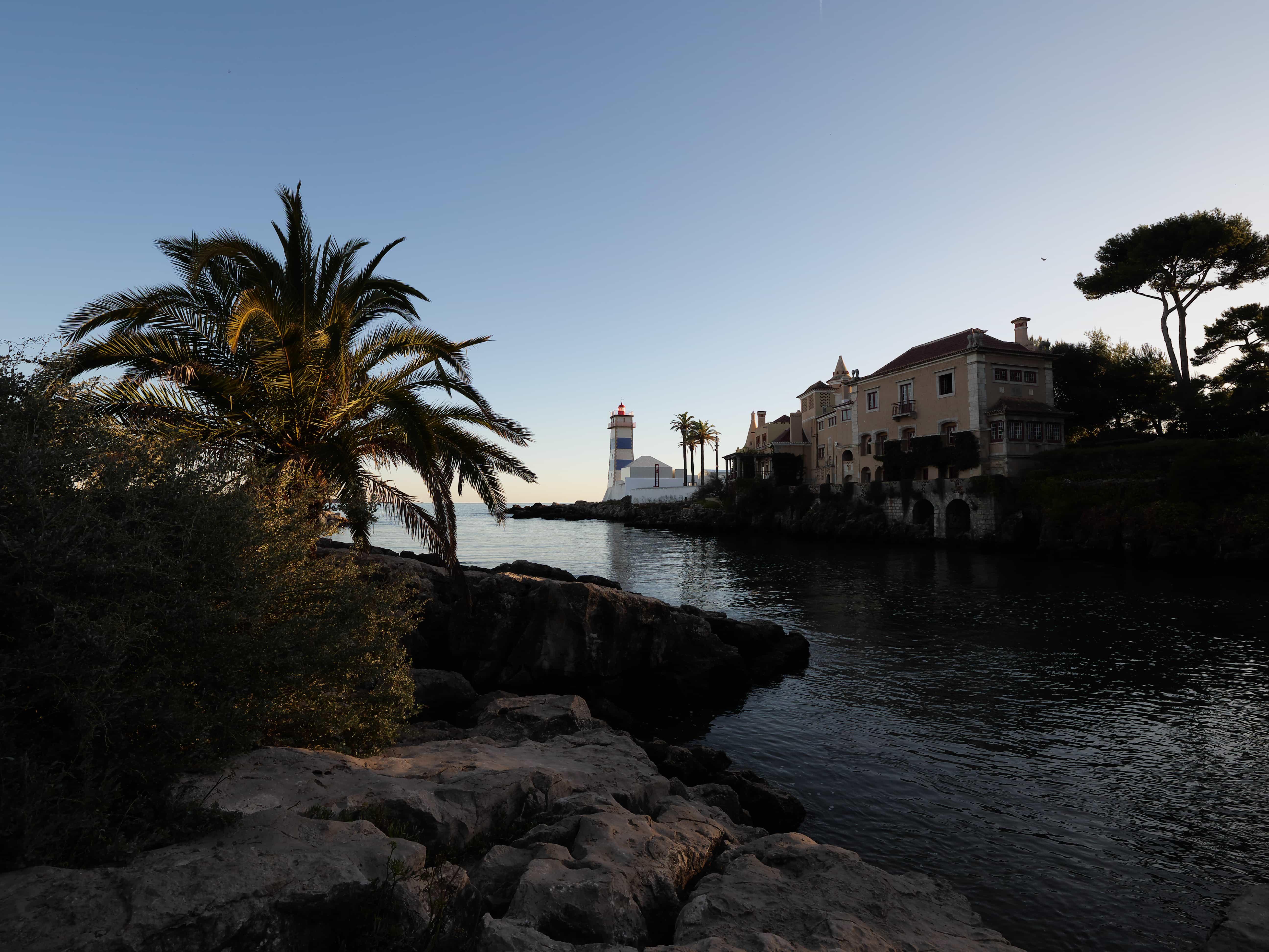 Leuchtturm und Bucht mit Panasonic Lumix G9