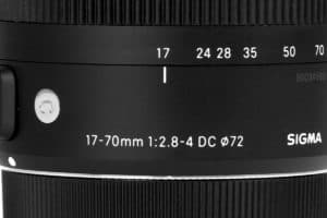 Sigma 17-70 mm Contemporary