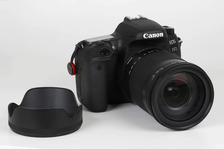Sigma 18-300 mm an Canon EOS 77D