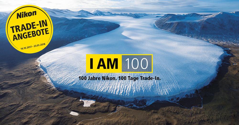 Nikon Trade-In Anzeige