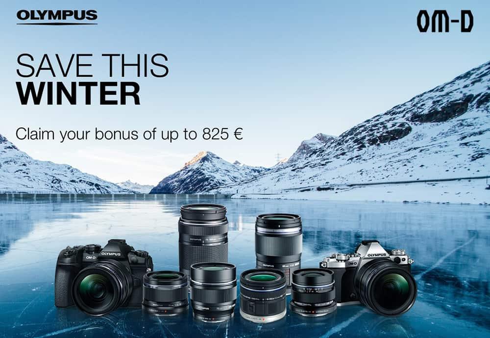 Olympus Winteraktion-Anzeige