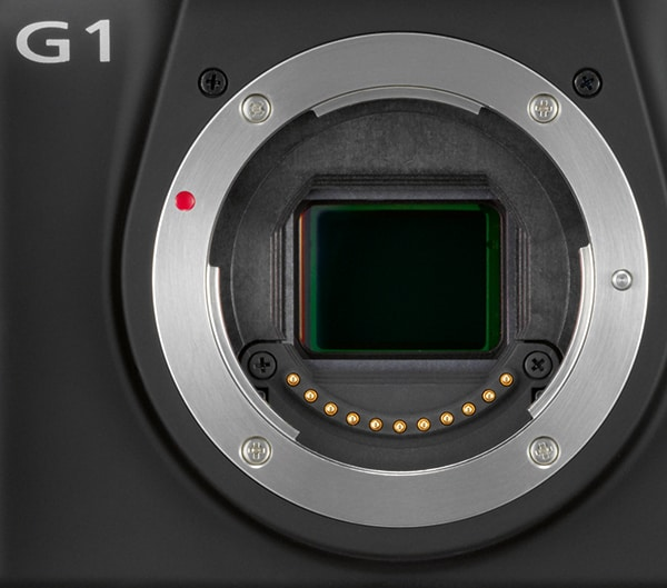 Panasonic Lumix G1 Detail