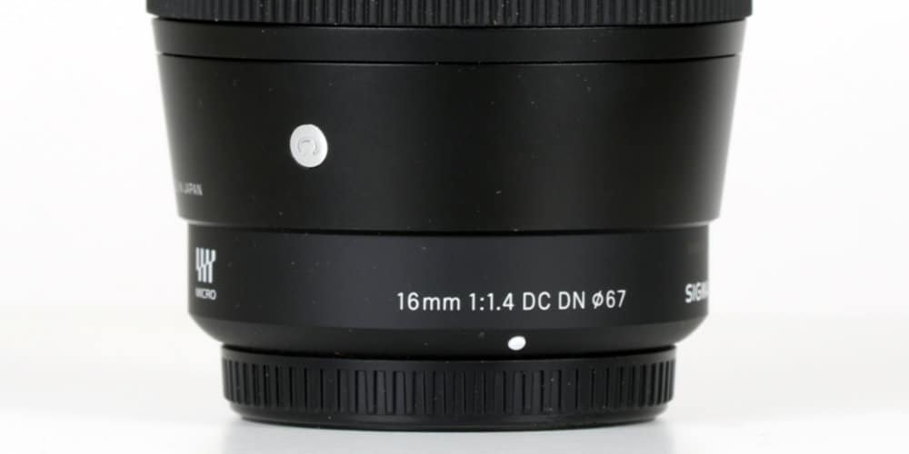 Sigma16 mm 1/1,4 DC DN