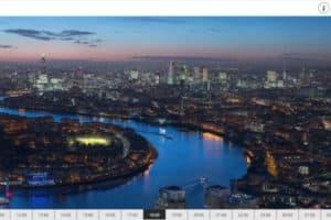 Timelaps London Gigapixel