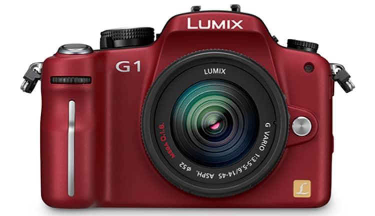 Panasonic Lumix G1 Front
