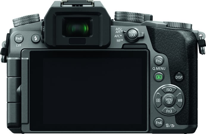 Panasonic Lumix G70 Back