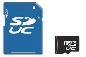 SDUC Speicherkarten