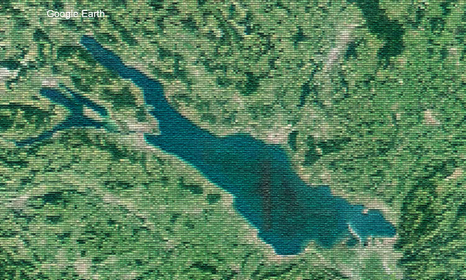 Bodensee (c) Google Earth