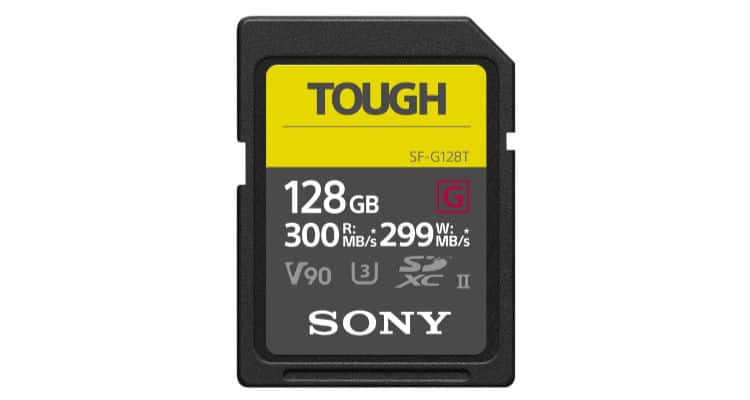 Sony Tough Speicherkarte