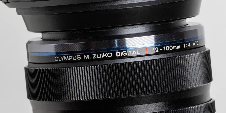 Olympus E-M10 Mark III, Objektiv