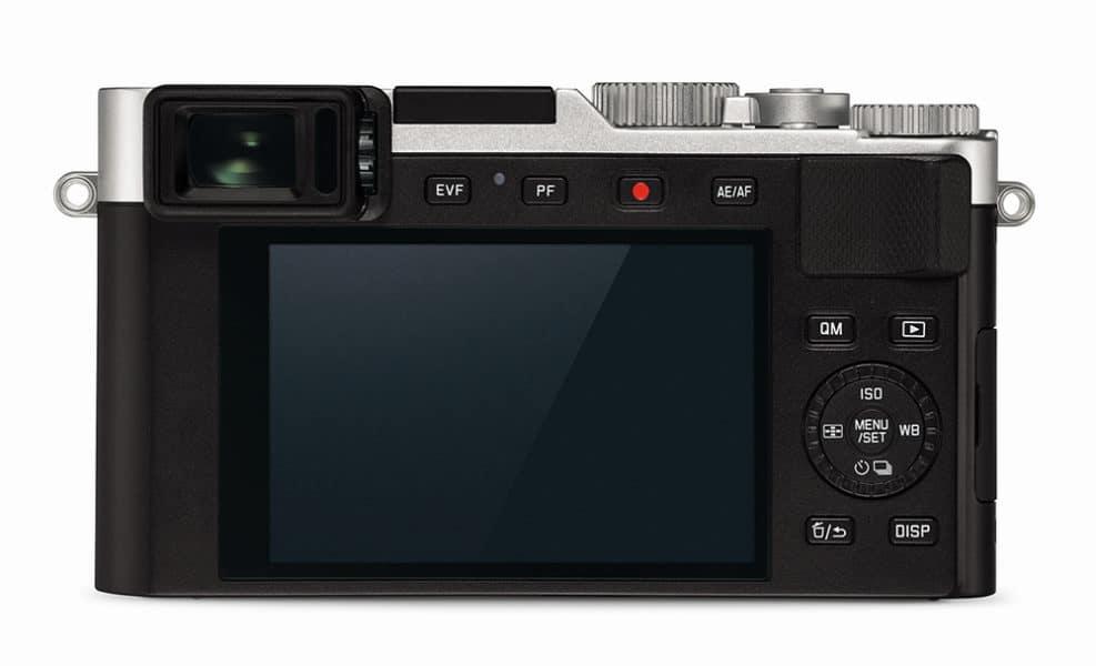 Leica D-Lux 7 Rückseite