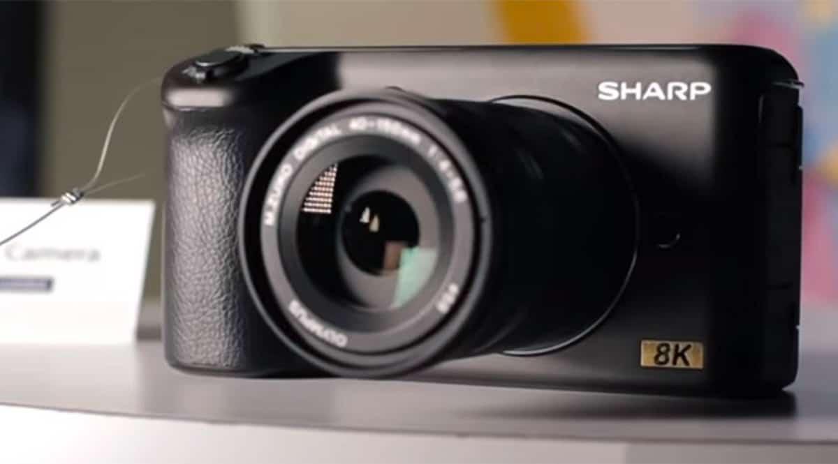 Sharp 8K-Kamera