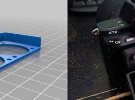 3D-Ruck-Kühler für Sony A-Serie