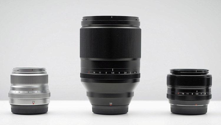 Fujifilm 33 mm F1