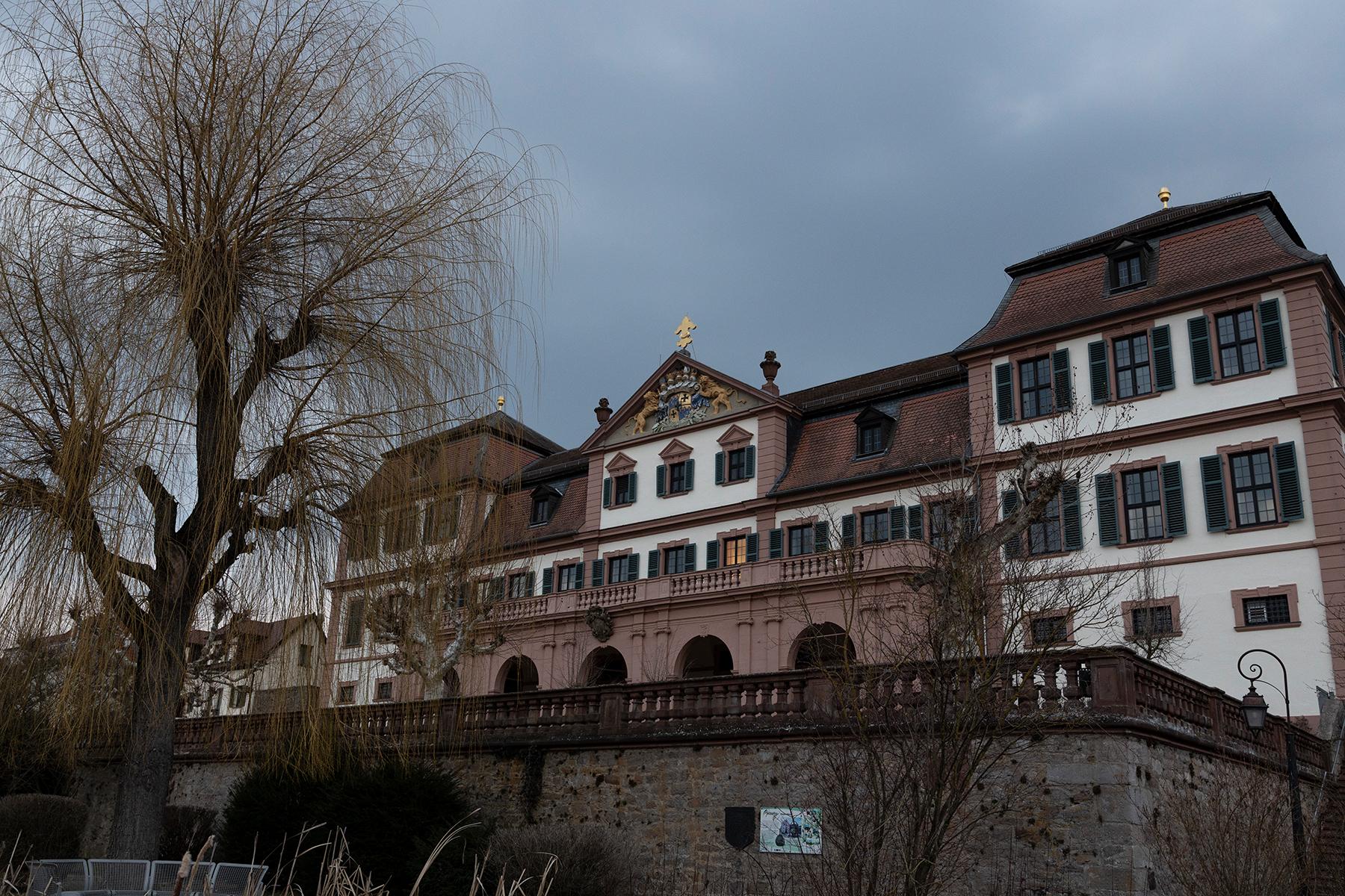 Kellereischloss in Hammelburg fotografiert mit Sigma 24-70 mm Arts