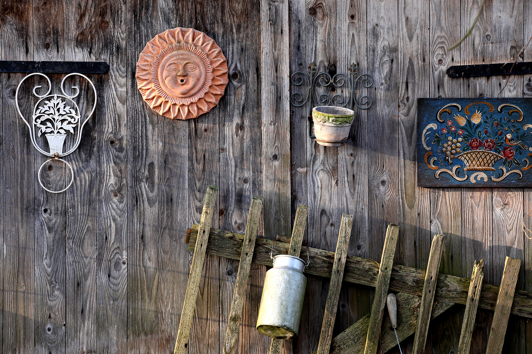 Holzwand fotografiert mit Sigma 70_200 mm Sports