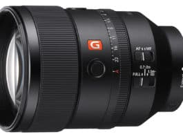 Sony FE 135 mm F1.8 GM
