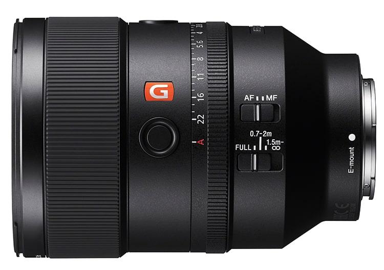 Sony FE 135 mm F1.8 GM