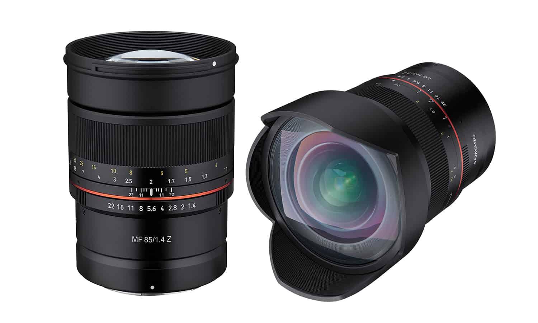 Samyan Objektive für Nikon Z