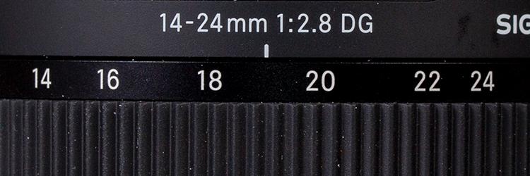 Sigma 14-24 Art Detail