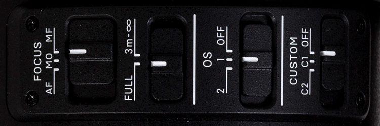 Sigma 70-200 Sports Detail