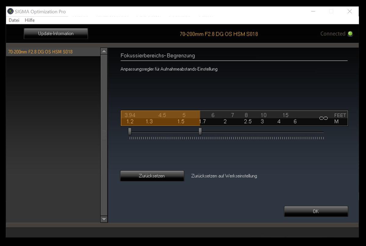 Sigma Optimization Pro Screenshot
