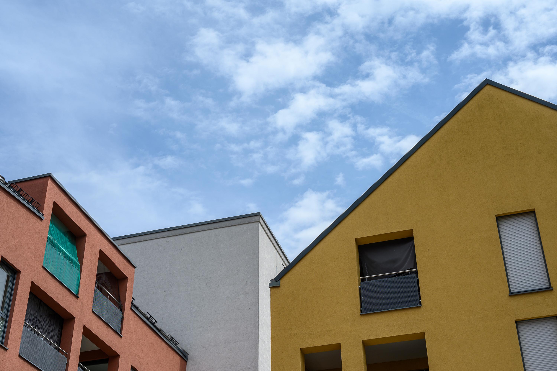 Fassaden, Aufnahme mit Nikon Z6 und Nikkor Z 50 mm