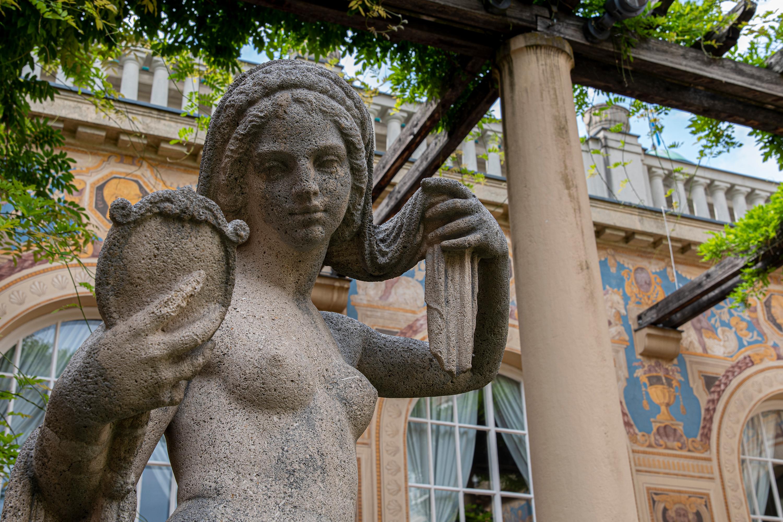 Skulptur, aufgenommen mit Nikon D7500