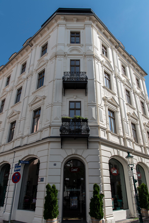 Fulda, altes Gebäude, aufgenommen mit Nikon D750
