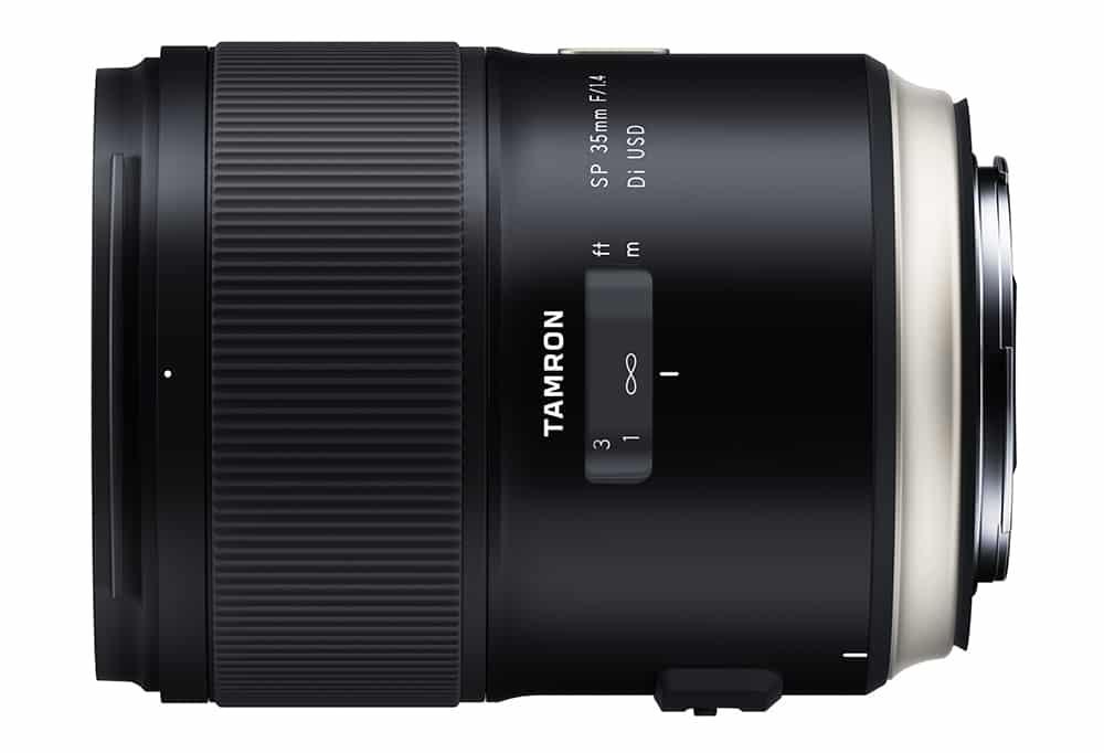 Tamron SP 35 mm F1.4 Di USD