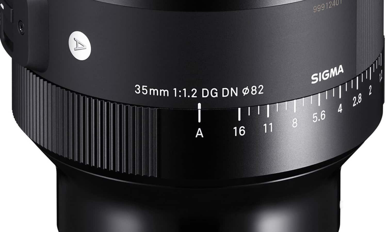 Sigma 35 mm F1.2 Art