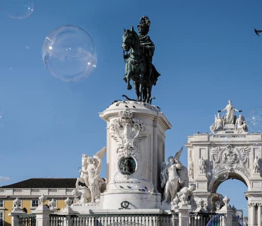 Reisefotografie, Denkmal in Lissabon