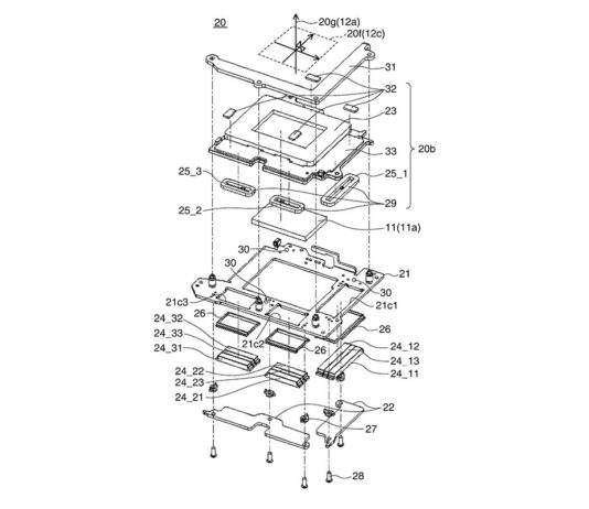 Canon Patent IBIS