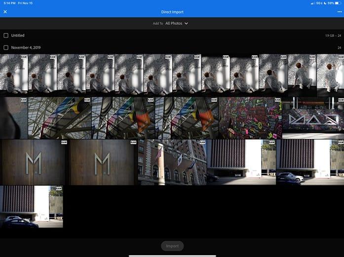 Lightroom für iOS