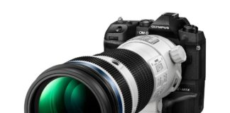 Olympus 150-400 mm Pro